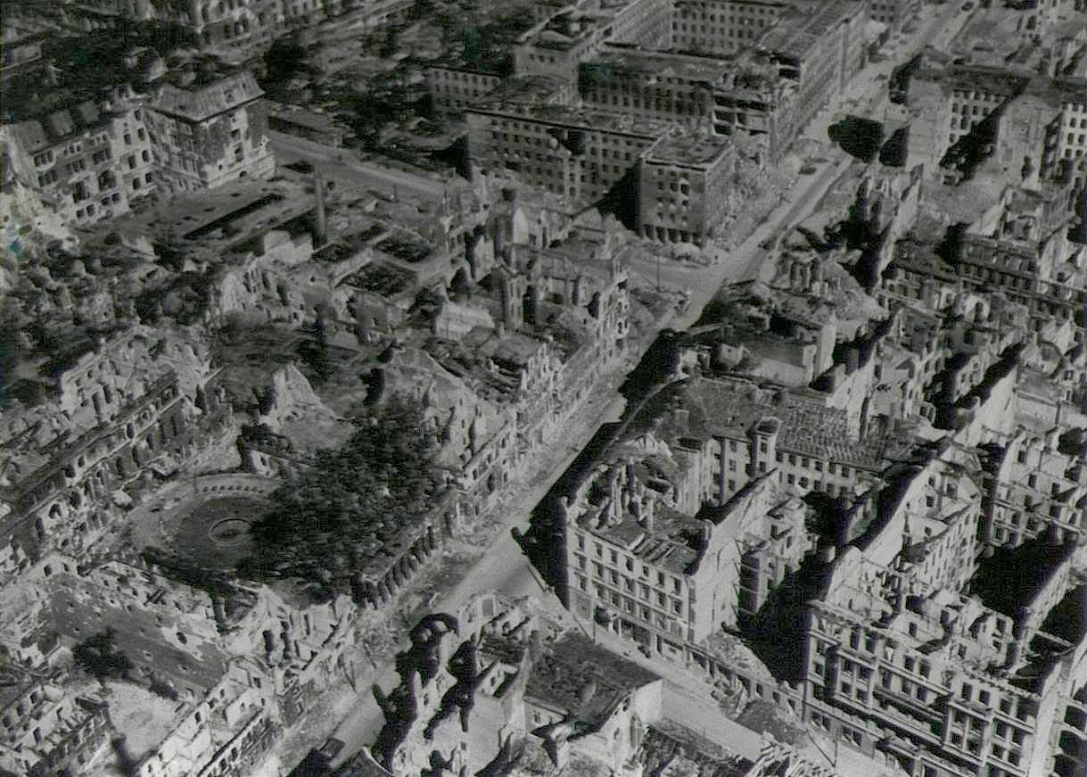 The reconstruction process for Germany began fully in 1948 but the city was not truly rebuilt until the 1980′s.