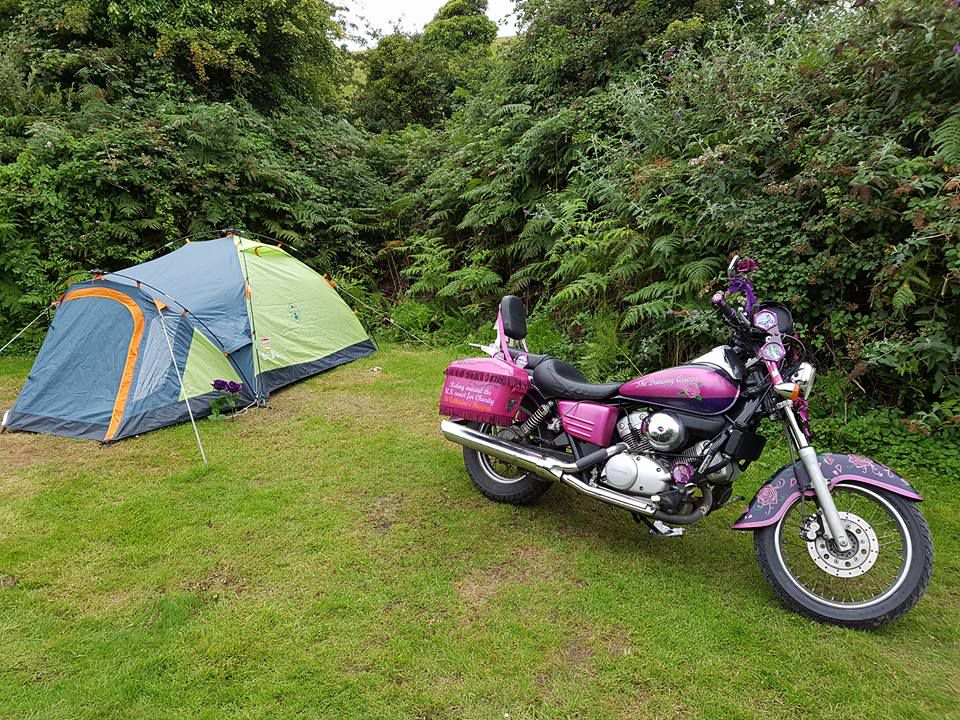 Coastal Valley Campsite in Cornwall