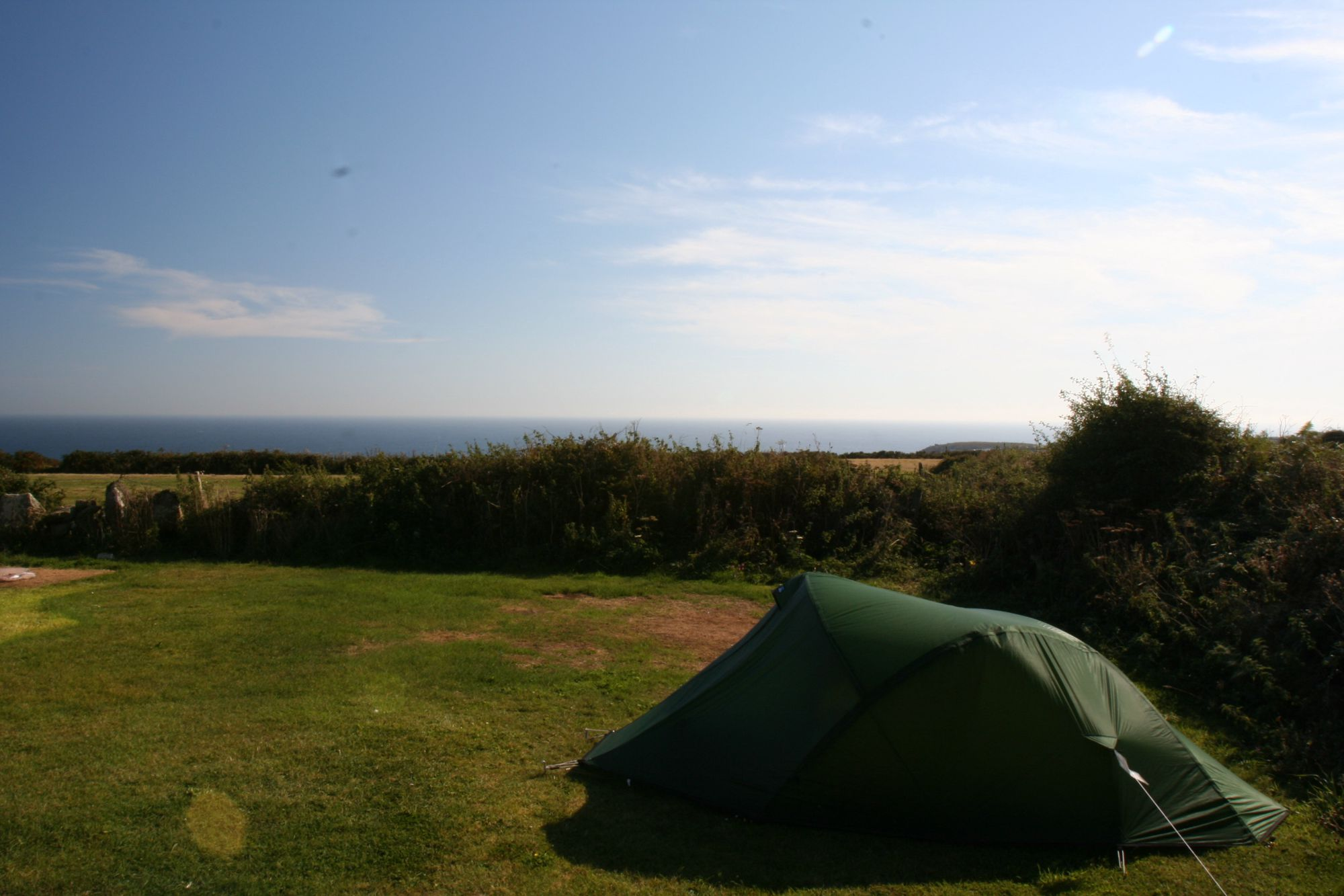 Treen Farm Campsite in Cornwall