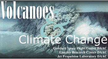 Volcanoes and Climate Change title