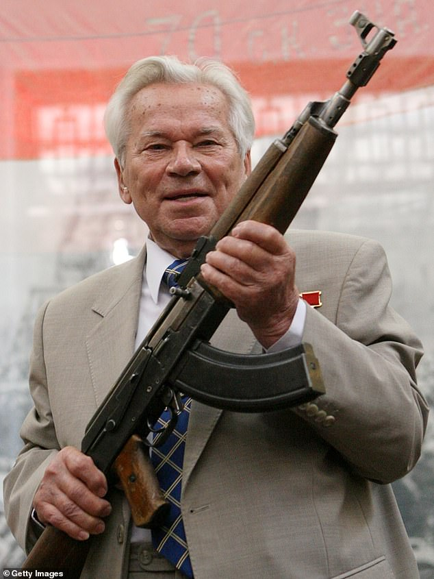 Russian weapon designer Mikhail Kalashnikov pictured in 2007. Russian general Kalashnikov was born on November 10, 1919 and is known for developing the AK-47 assault rifle. He is revered as a public figure in Russia and passed away in December 2013, at the age of 93