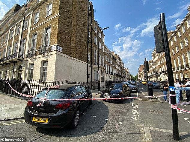 A man has been shot and another stabbed during an attack near London