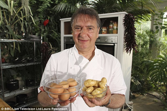 TV chef Raymond Blanc has also blasted the 'fashionable' obsession with having a food intolerance