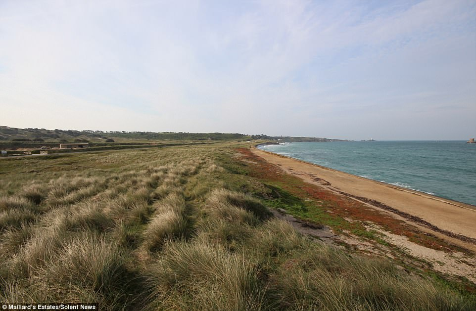 Two plots of sand dunes are on sale with Maillard