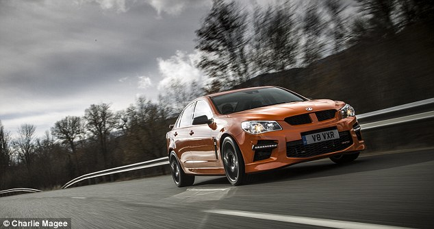Least efficient: The What Car? results show the Vauxhall VXR8 is the least efficient car overall