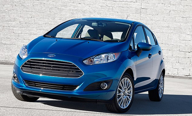 Off the mark: The Ford Fiesta Zetec delivered a
