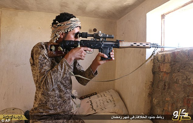 ISIS have been known to leave a lone sniper, tied to the top of a palm tree with the orders to kill as many enemy soldiers as possible