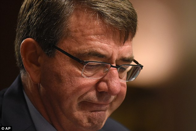Defense Secretary Ash Carter (pictured above) signalled his intent to step up the US military's activity in Iraq and Syria, just days after US forces participated in a raid to rescue Islamic State hostages in an area of Iraq