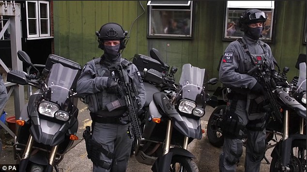 London police have recently been kitted out with heavy-duty weaponry to combat terrorists