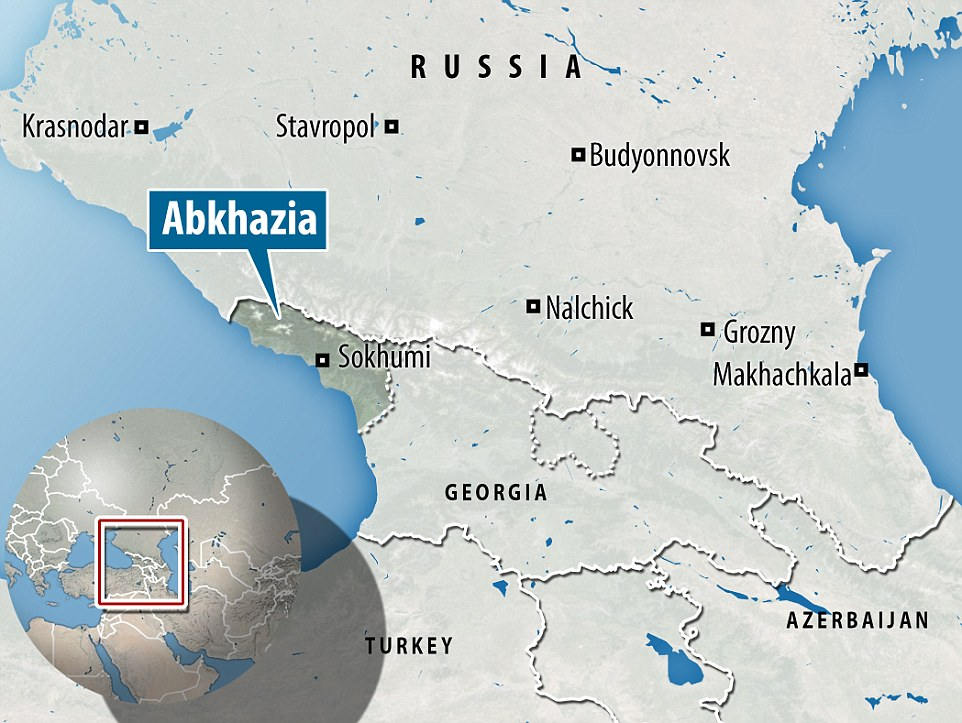 Abkhazia, on the eastern coast of the Black Sea, has been a disputed state  since its formation in 1992 when it broke away from Georgia after the fall of the Soviet Union
