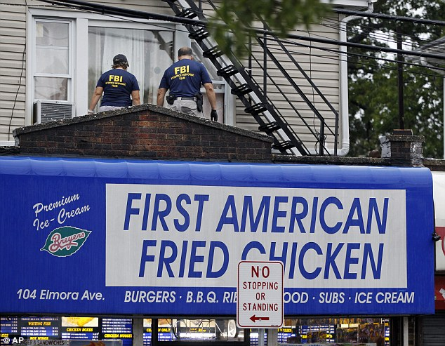 Rahimi lived in an apartment in Elizabeth, New Jersey, above the restaurant First American Fried Chicken, which his family owns