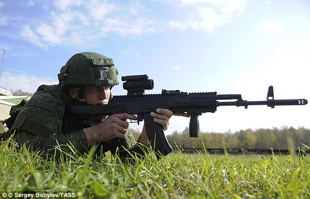 The new AK-12 rifle is the latest addition to Russia