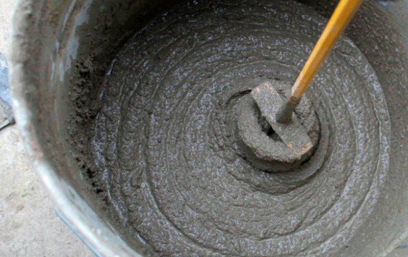 Сделать цементный раствор белым тощий бетон технология