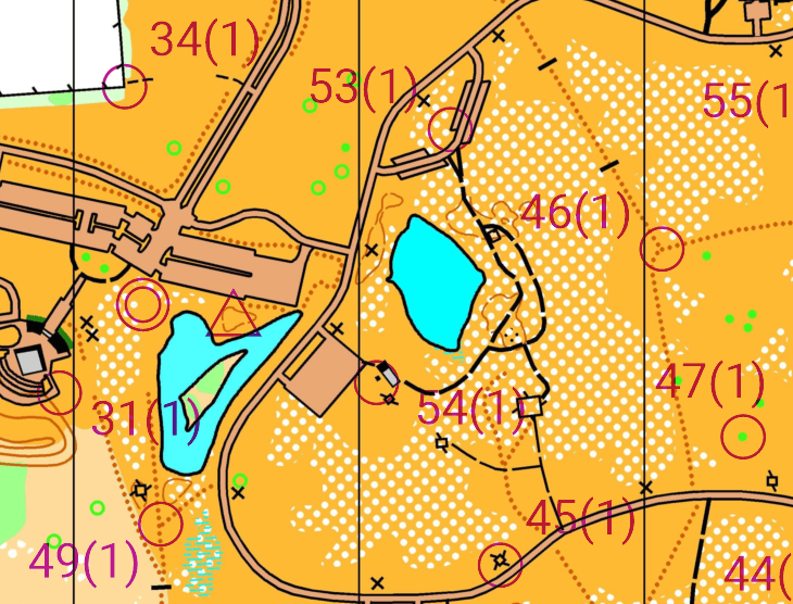 Orienteering Map Legend