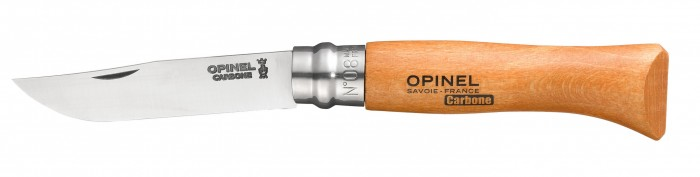 Opinel No. 8 Beechwood Handle Knife
