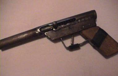 Home-built shot-pistol