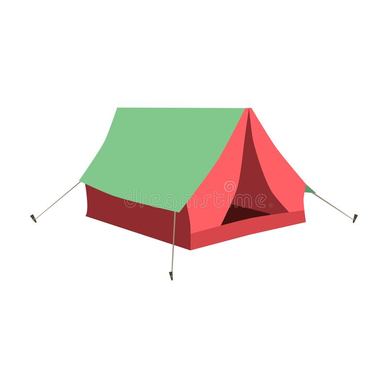 Set of tourist tents. Collection camping tent icons. Vector illustration. Set of tourist tents. Collection of camping tent icons. Vector illustration eps10 vector illustration