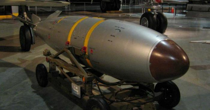 brief characteristics of nuclear weapons