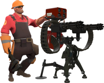 The Engineer with a Level 3 Sentry