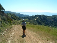 The Backbone Trail, Santa Monica Mountains, Южная Калифорния