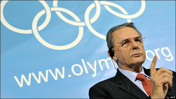 IOC president Jacques Rogge (a trained surgeon) wants to add women