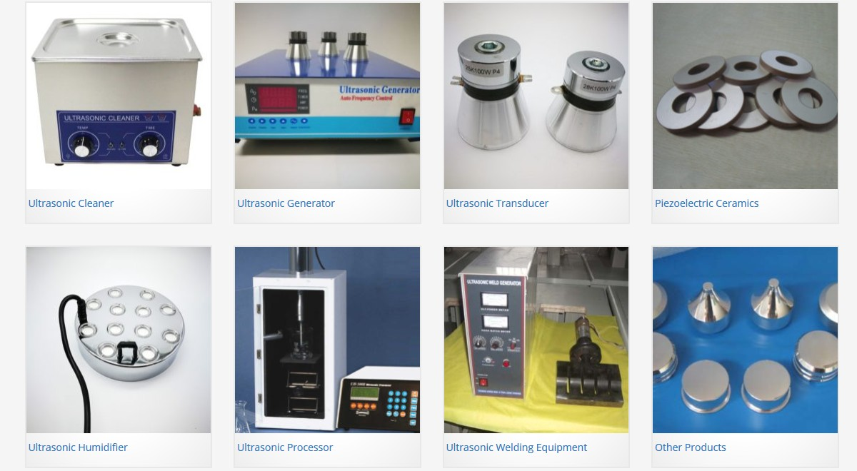 Ultrasonic Products Beijing Ultrasonic Offers