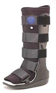 peroneal tendonitis self treatment ossur brace tall boot