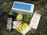 Italian Combat Ration, Module G Contents